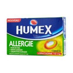 HUMEX ALLERGIE 10mg Cpr Plq/7 loratadine
