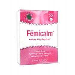 Femicalm confort pré - menstuel Boite de 28 comprimés