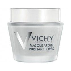 VICHY Masque argile purifiant pores Pot de 75 grammes