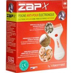 VISIOMED ZAP Peigne poux électronique