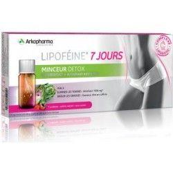 ARKOPHARMA Lipoféine 7 jours Minceur Détox Boite de 7 unidoses