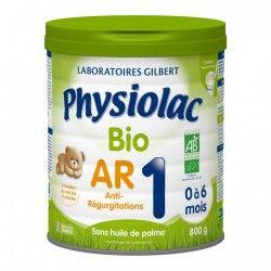 PHYSIOLAC BIO AR 1ere age Boite de 900 g