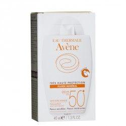 AVENE Solaire Fluide minéral Protection 50 + Tube de 40 ml