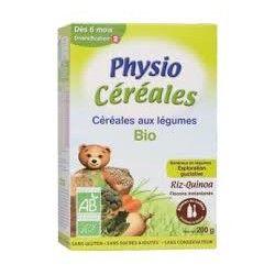 PHYSIOLAC Bio Céréales Riz, Millet, Quinoa Dès 4 mois Boite de 200 grammes