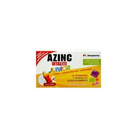 ARKOPHARMA AZINC OPTIMAL JUNIOR Cpr croq cola Fl/30