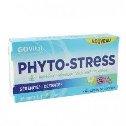GO VITAL Phyto stress Boite de 28 comprimés Sérénité et détente