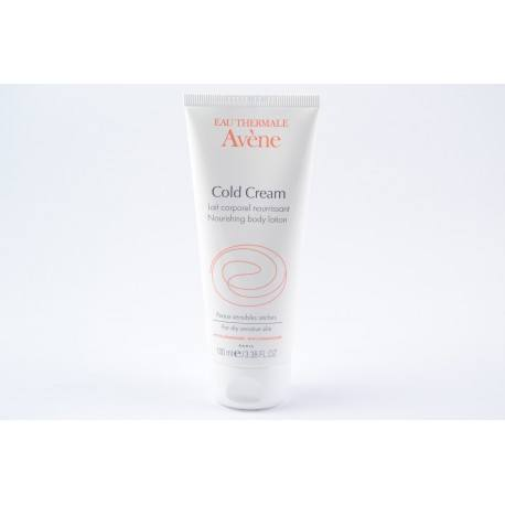 AVENE COLD CREAM Lait corp nourrissant tube de 100ml