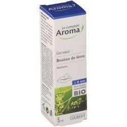 AROMA EXPRESS Gel Labial Bouton de fièvre Tube de 5 ml
