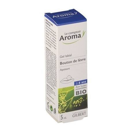 AROMA EXPRESS Gel labiale bouton de fièvre Tube de 5 ml