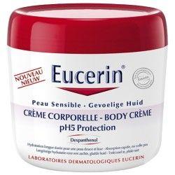 EUCERIN Crème corporelle Peaux sèche et sensible Pot de 450 ml