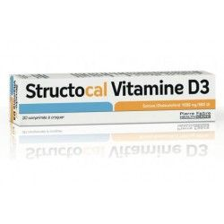 STRUCTOCAL Vitamine D3 Boit de 30 comprimés à croquer