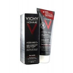 VICHY HOMME Hydra mag c Soin hydratant + gel douche offert