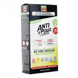 CINQ SUR CINQ Kit de traitement anti poux et lentes