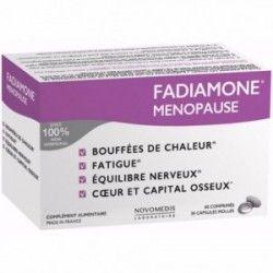 FADIAMONE Menopause Complément alimentaire Boite de 60 comprimés + 30 capsules molles