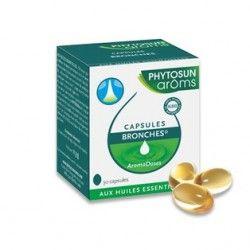 PHYTOSUN AROMS Capsules Bronches Boite de 30