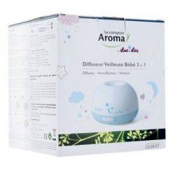 LE COMPTOIR AROMA Diffuseur humidificateur veilleuse by Luc et Léa