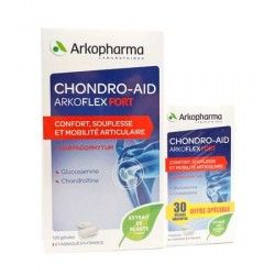 ARKOPHARMA CHONDRO-AID Fort ArkoFlex Boite de 120 + 30 gélules offert