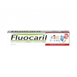 FLUOCARIL KIDS Gel dentifrice fraise 2 à 6ans Tube de 50ml
