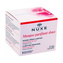 NUXE Masque Purifiant Doux aux Pétales de Rose pot de 50 ml