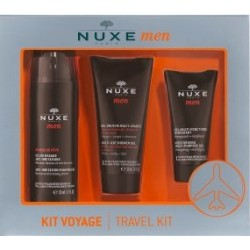 NUXE MEN Kit de survie Gel de rasage + Gel douche + Gel hydratant