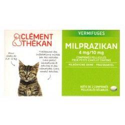 MILPRAZIKAN Vermifuges pour chatons Boite de 2 comprimés
