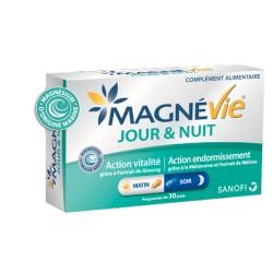 MAGNEVIE JOUR et NUIT Vitalité et endormissement Boite de 60 gélules