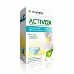 ACTIVOX Comprimés pour inhalation aux huiles essentielles Boite de 20