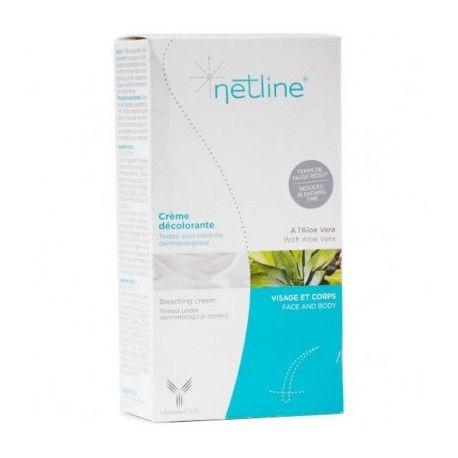 NETLINE Crème décolorante Visage et corps Tube de 40 + 20 ml