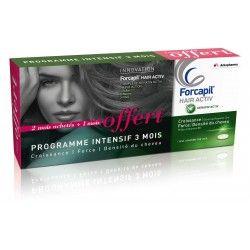 ARKOPHARMA Forcapil Hair active Boite de 2 mois + 1 mois offert