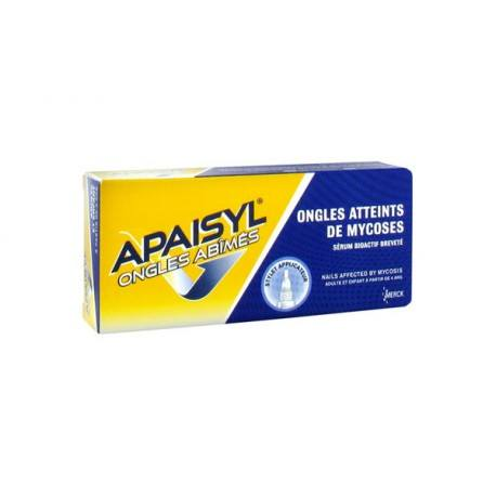 APAISYL ONGLES ABIMES Sérum antifongique bioactif Tube de 4ml