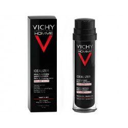 VICHY HOMME IDEALIZER Crème hydratante multi action Rasage fréquent Flcon pompe de 50ml