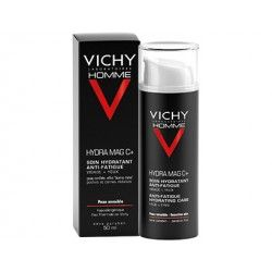 VICHY Homme HYDRA MAG C +  Soin hydratant anti fatigue Tube de 50ml
