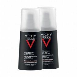 VICHY HOMME Déod antitransp 2Vapos/100ml