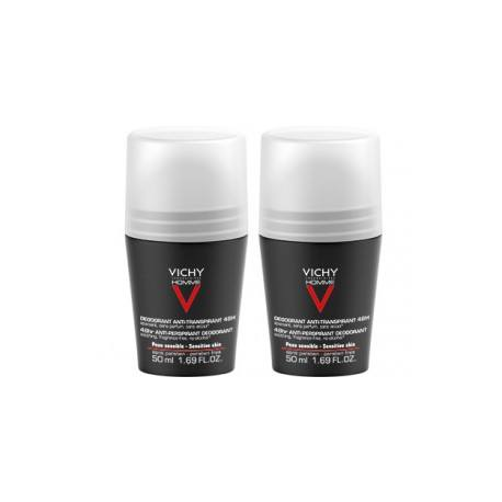 VICHY HOMME Déod antitransp 2Billes/50ml