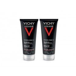 VICHY HOMME MAG C Gel douche corps et cheveux Lot de 2 Flacons de 200ml