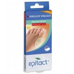 EPITACT Protections Epithelium Activ pour HALLUX VALGUS Boite de 2