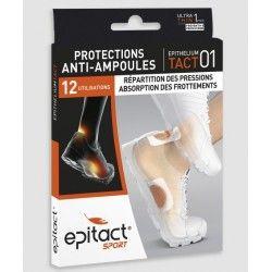 EPITACT SPORT Protection anti ampoules Boite de 4