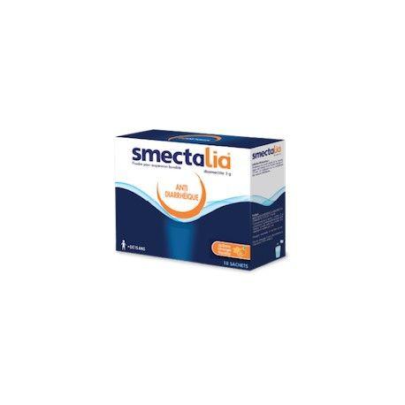 SMECTALIA Diosmectite 3g Diarrhée aiguë Boite de 18 sachets