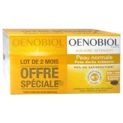 OENOBIOL Solaire intensif Nutriprotection peau normale Lot de 2 mois