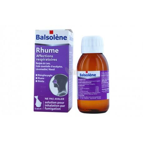 BALSOLENE Solution pour inhalation par fumigation 1Flacon de 100ml