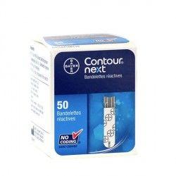 CONTOUR XT NEXT Bdlette p lect glycémie B/50
