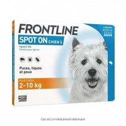 FRONTLINE S ext Ch 2-10kg 4Doses