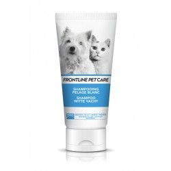 FRONTLINE PET CARE Shampooing pelage blanc Tube de 200 ml