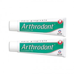ARTHRODONT Pâte gingivale Lot de 2 Tubes de 80g