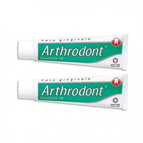 ARTHRODONT Pâte gingivale Lot de 2 Tubes de 80g