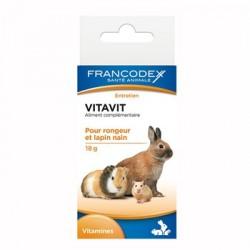 FRANCODEX Vitavit aliment complémentaire pour rongeurs 18g
