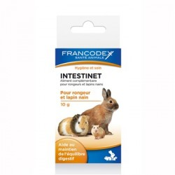 FRANCODES Intestinet Maintien de l'équilibre digestif chez les rongeurs et lapins nains