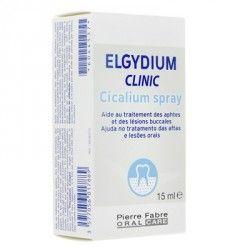 ELGYDIUM CLINIC Cicalium spray Traitement des aphtes 15 ml