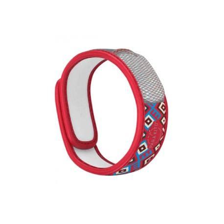 PARA'KITO Bracelet répulsif anti-moustique rouge