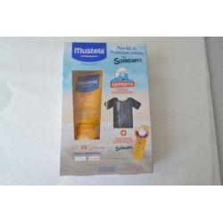 MUSTELA Solaire Lait solaire très haute protection Tube de 200 ml + t shirt et bracelet indicateur UV offert